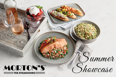 Morton's summer menu
